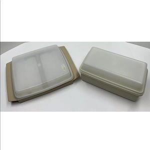 Tupperware Deviled Egg Keeper & Bread/Loaf Keeper